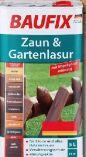 Zaun-Gartenlasur von Baufix