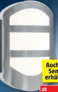 LED-Außenwandleuchte Endura Style Plate Wall von Osram