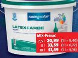 Mix Latexfarbe von Swingcolor