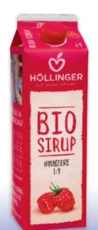 Bio Sirup von Höllinger