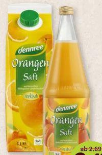 Bio-Orangensaft von dennree