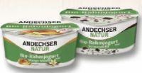 Bio-Vanille-Rahmjoghurt von Andechser Natur