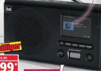 Portables DAB+ UKW-Radio von Dual