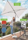 Rechteckiger Sonnenschirm von Florabest
