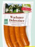 Wachauer Frankfurter von Berger