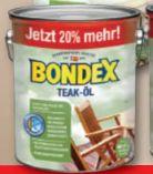 Teak-Öl von Bondex