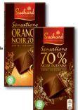 Tafelschokolade  Sensations von Suchard