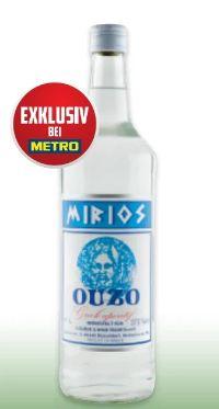 Ouzo von Mirios