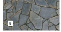 Quarzit Polygonalplatte Nero Greco