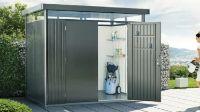 Metall-Gerätehaus HighLine H1 von Biohort