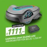 Smart Sileno Life 1250 Set von Gardena