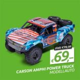 Modellauto Carson Amph Power Truck Orange von Simba