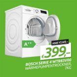 Wärmepumpentrockner Serie 4 WTR83V00 von Bosch