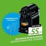 Nespresso Kapselmaschine EN 80.B Inissia von DeLonghi