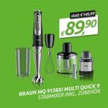 Stabmixer Q 9138XI Multi Quick 9 von Braun
