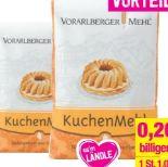 Kuchenmehl von Vorarlberger Mehl