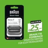 Ersatzscherteil 73S Kombipack von Braun