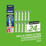 Oral-B Aufsteckbürsten Cross Action Clean Maximiser von Braun