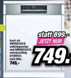 Geschirrspüler SMI6ECS51E von Bosch