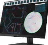 Display Z24i G2 von HP