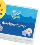 Bio Alpenbutter von Bio vom Berg