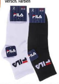 Unisex Quarter Socken von Fila