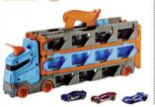 Hot Wheels Rennbahn Transporter von Mattel