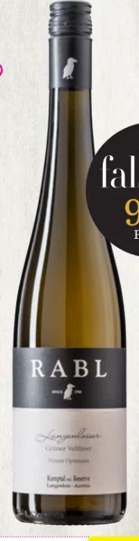 Grüner Veltliner Vinum Optimum Kamptal von Weingut Rabl