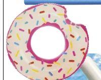 Schwimm-Ring Bunter Donut von Intex