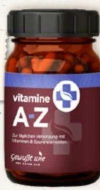 Vitamine A-Z von Gewusst Wie
