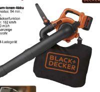 Akku-Laubsauger GWC3600 L20 von Black & Decker