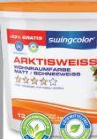 Wohnraumfarbe Arktisweiß von Swingcolor