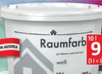 Raumfarbe Innendispersion von Bauhaus