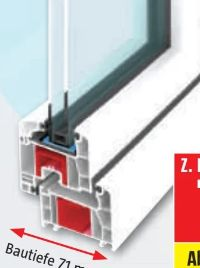Kunststofffenster Q71 Supreme von Solid Elements