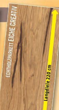 Echtholzparkett Eiche Creative von Logoclic