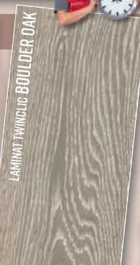 Laminat Twinclic Boulder Oak von Logoclic