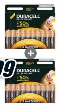 Plus Power AA BP von Duracell