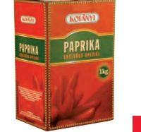 Paprika Edelsüß von Kotányi Gourmet
