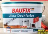 Ultra-Deckfarbe von Baufix