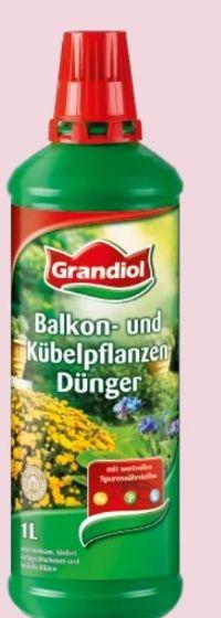 Balkon-Kübelpflanzen Dünger von Grandiol