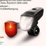 LED-Fahrradleuchten-Set von Crivit