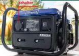 Stromgenerator SG1000 SE von Scheppach