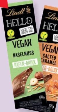 Tafelschokolade Hello Vegan von Lindt