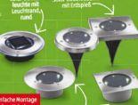LED-Solar-Bodenleuchte