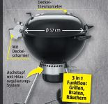 Holzkohlegriller Master-Touch GBS Premium SE E-5775 von Weber