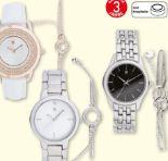 Damen Armbanduhr-Schmuckset von Auriol