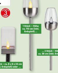LED-Solarfackel von Melinera