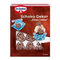 Schoko Dekor Herzen von Dr. Oetker