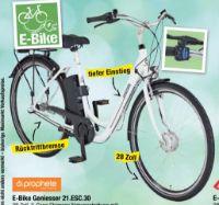 E-Bike Geniesser 21.ESC.30 von Prophete