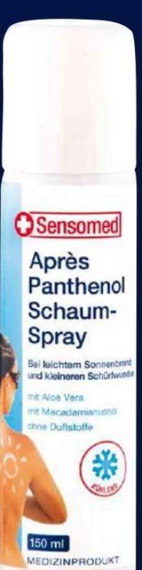Après Panthenol Schaum-Spray von Sensomed